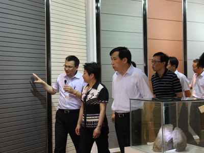 Wuxi Municipal Party Committee Secretary Huang Lixin come to visit Paneltek