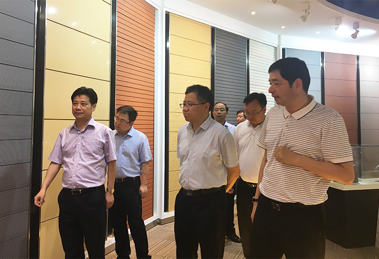 Government delegation of Jiangxi Province came to visit Paneltek factory