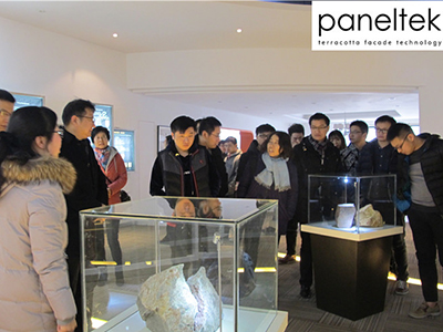 Designers from ECADI visited PANELTEK CHINA