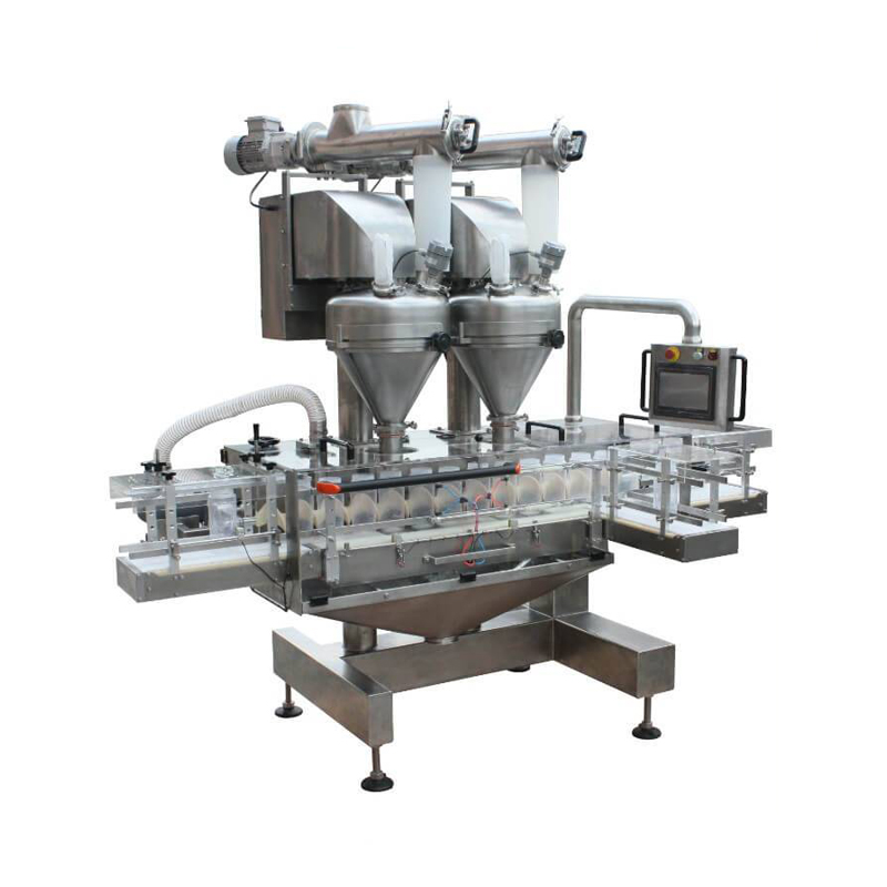 Double-Hopper powder filling machine--DPF-200