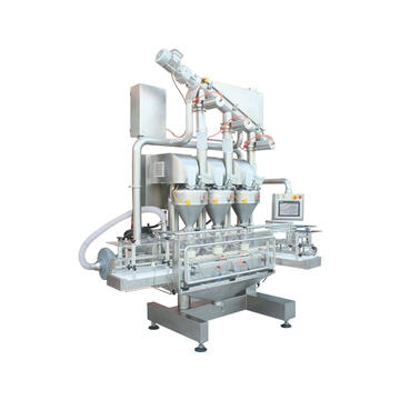 Triplex-Hopper powder filling machine--TPF-100