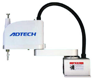 ADTECH 4-axis 5kg payload scara robot with 600mm arm reach