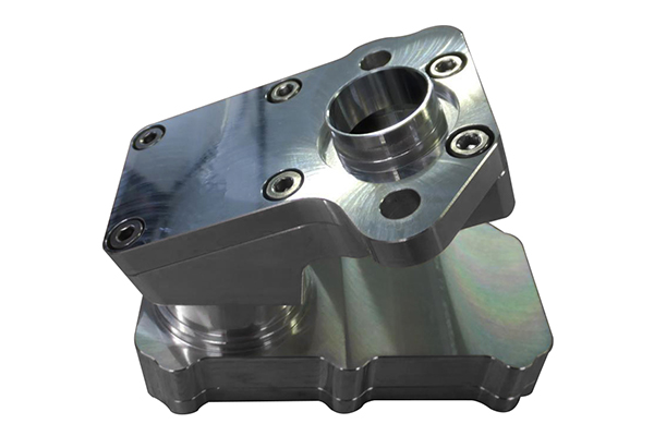 Aluminum Alloy Housing Rapid Prototype CNC Machining Model