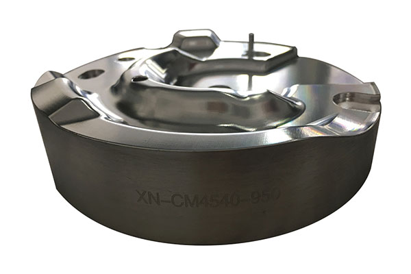 Aluminum Alloy Lathe Processing Hand Plate Model