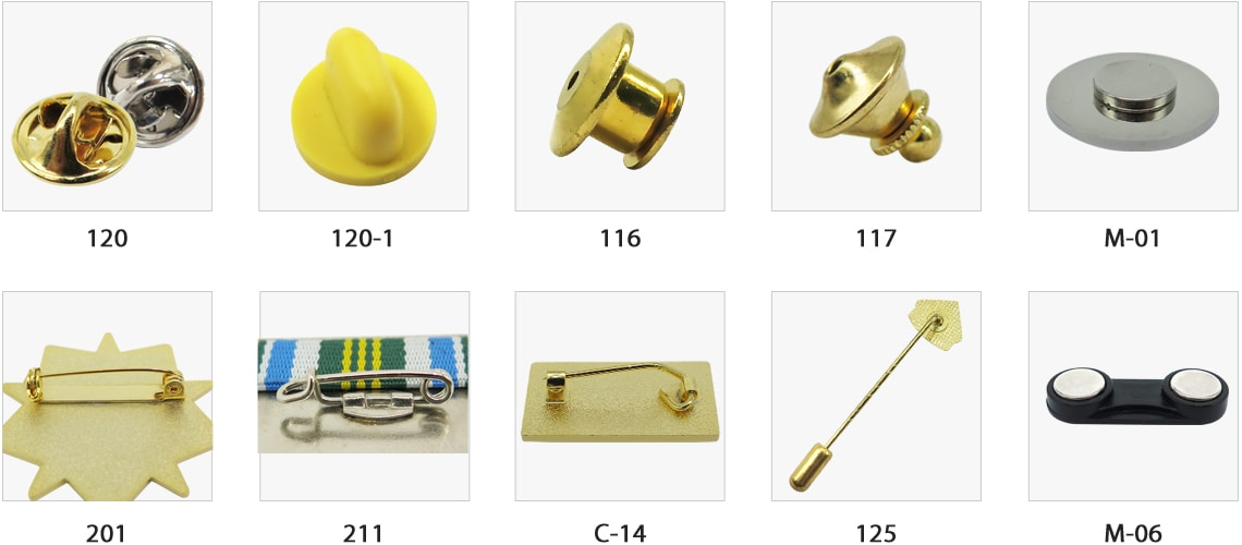 custom lapel pin accessories
