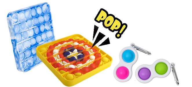 Push Pop Bubble Fidget Toy Maker