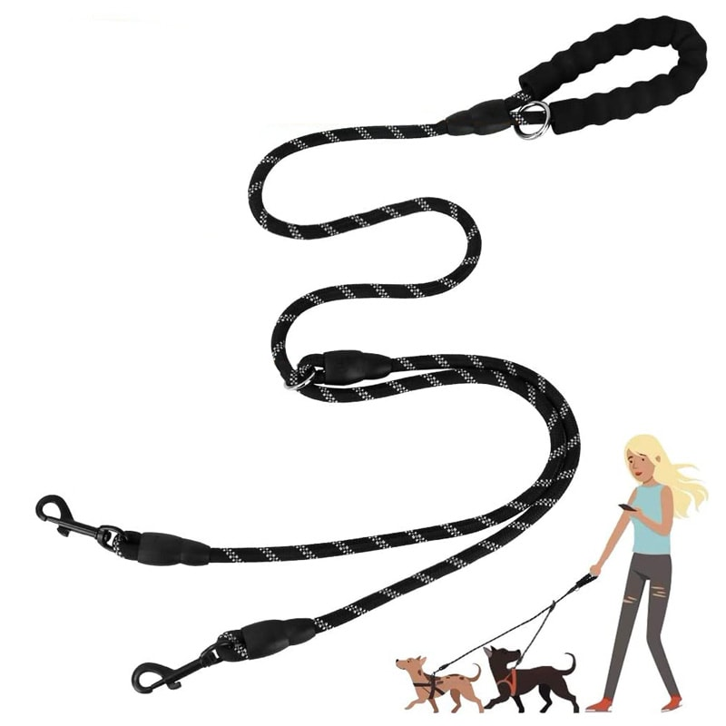 Split Dog Leash