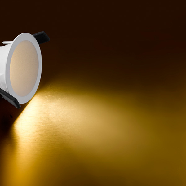 Recessed ceiling light with smart spring - VA6214 -