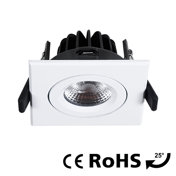 Square downlight - V6184 -