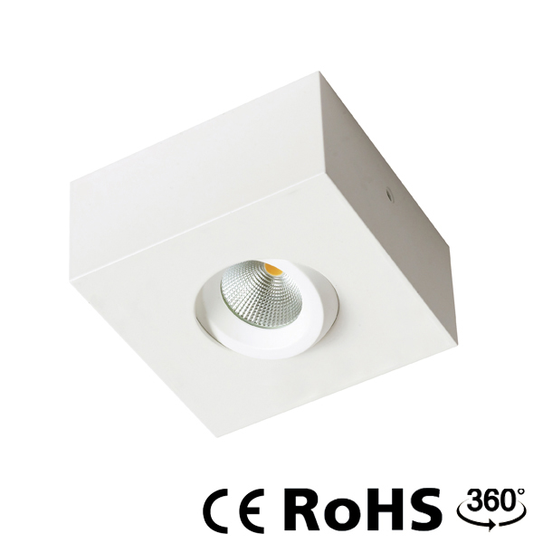 STM6284- Square surface downlight.