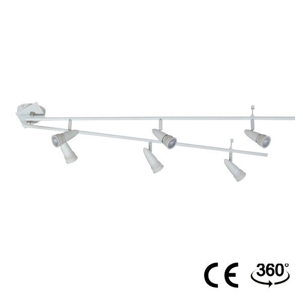 Surface mounted track spotlight - CPL-6A -