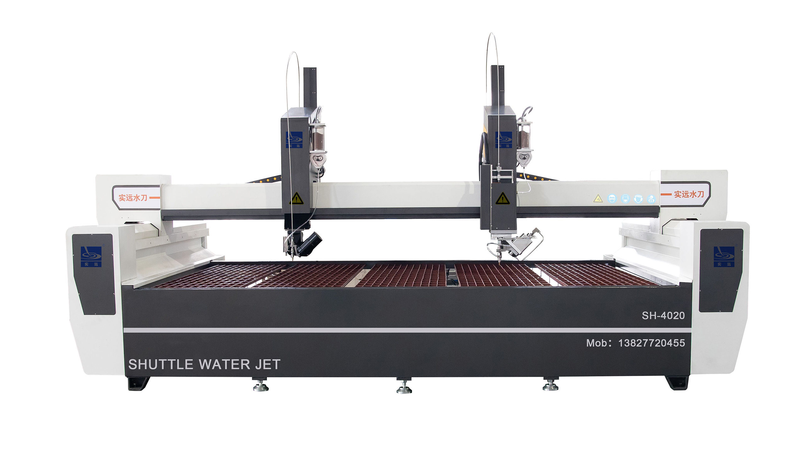 New Double-heads Water Jet Machine