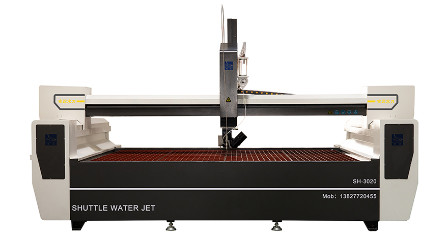 Angles Cutting AB 5 axis Waterjet Machine