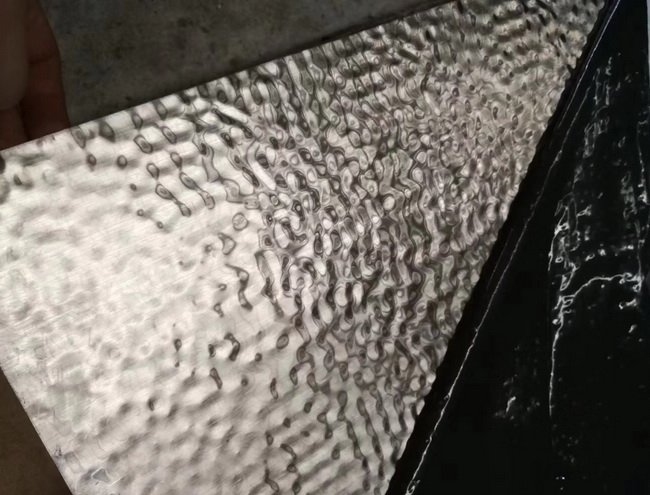 Water Ripple Effect Stainless Steel Sheet