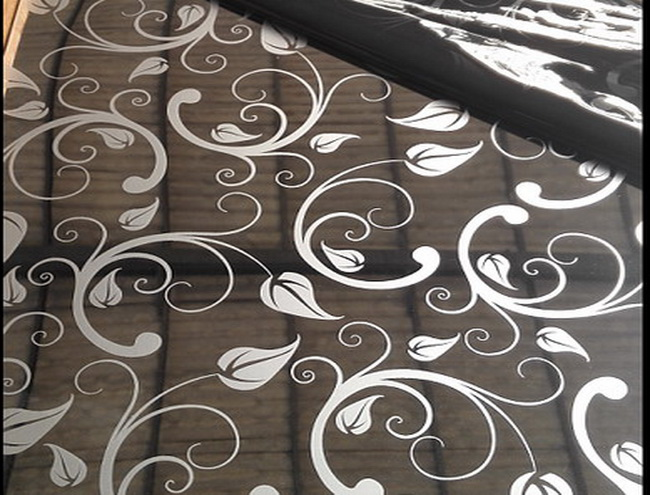 Mirror Etched Stainless Steel Sheet