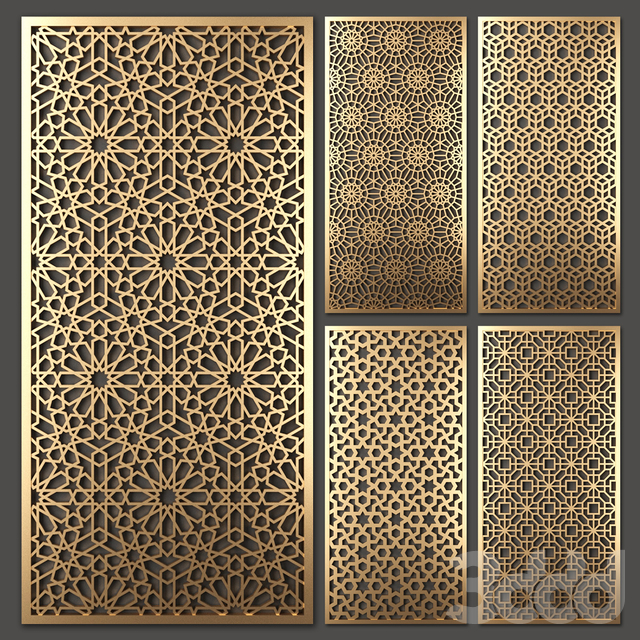 Stainless Steel Decorative Laser Cut Screen Panel