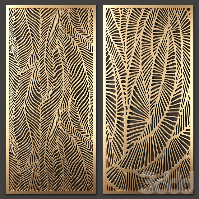 Stainless Steel Laser Cut Screen Designs