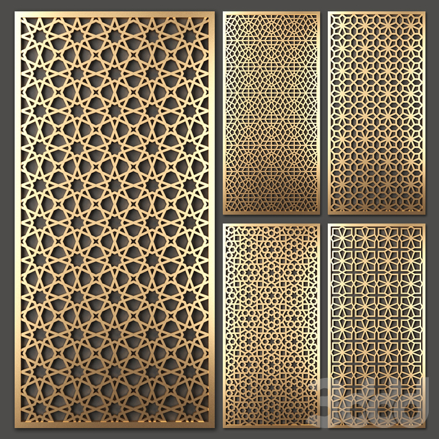 Stainless Steel Laser Cut Screen Panel