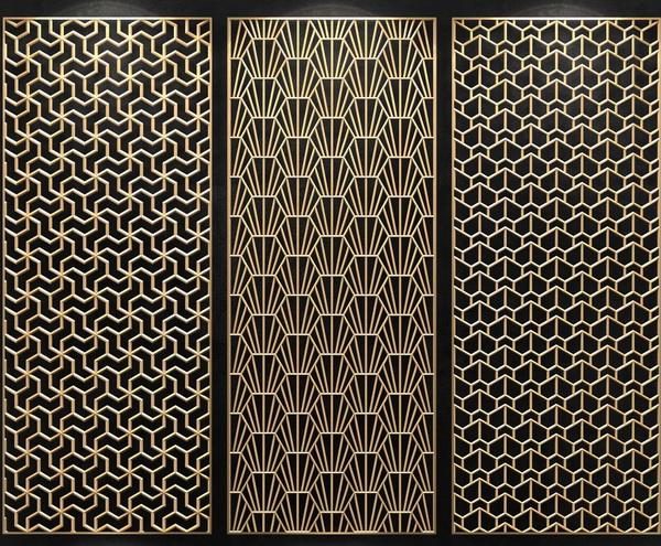 Stainless Steel Laser Cut Metal Screen
