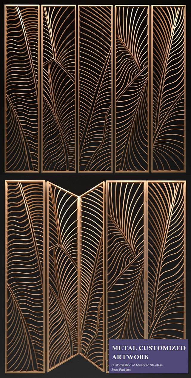 Stainless Steel Laser Cut Decorative Panel