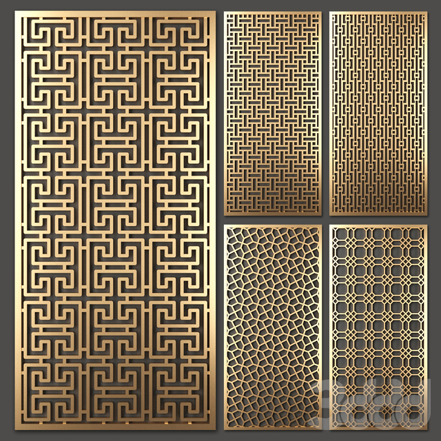 Stainless Steel Laser Cut Metal Panel