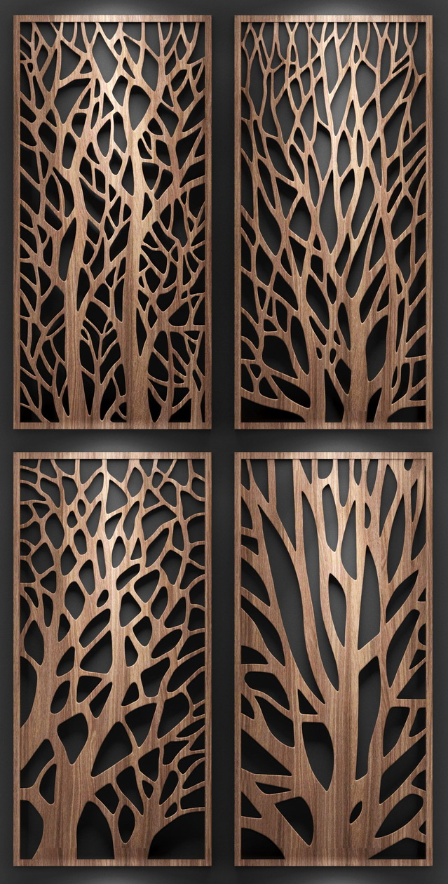 Stainless Steel Laser Cut Metal Panels and Screens