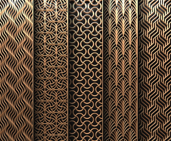 Stainless Steel Laser Cut Privacy Panels