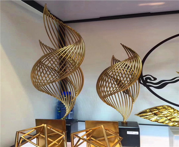 Stainless Steel Wind Sculptures