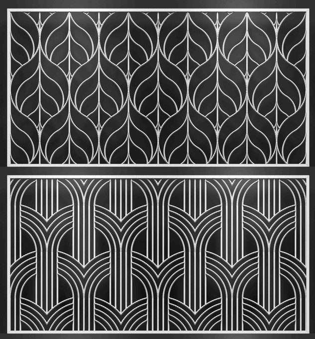 Stainless Steel Laser Cut Divider Panel