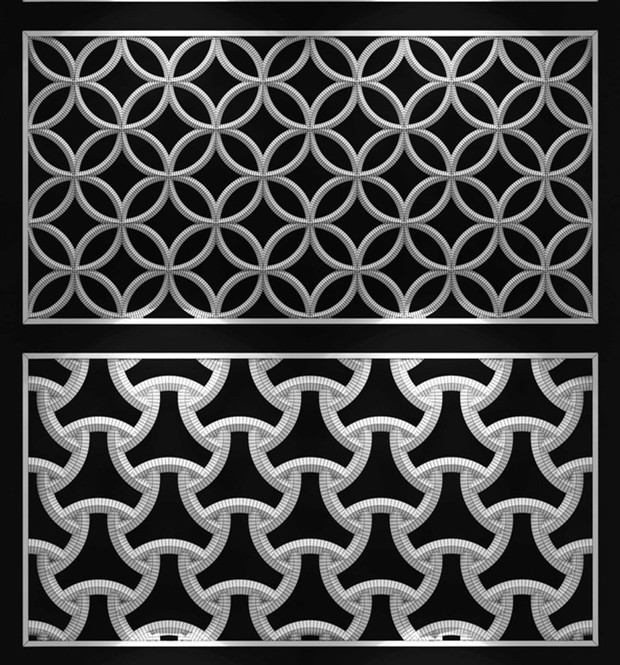 Stainless Steel Laser Cut Room Screen