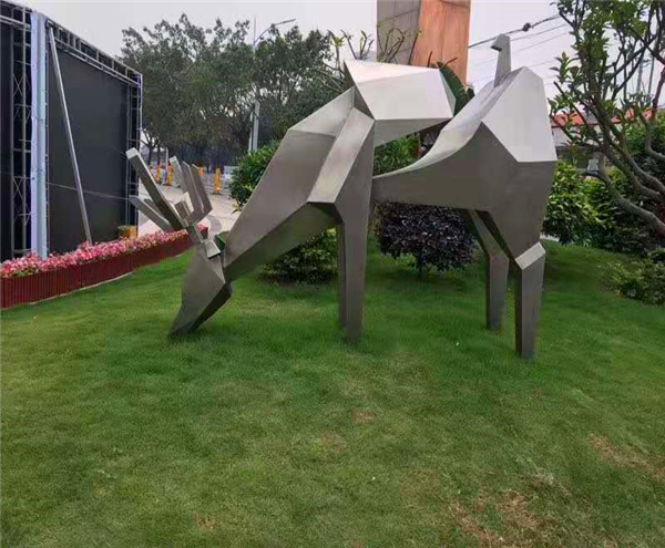Large Metal Garden Sculptures