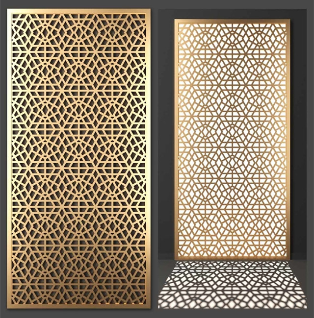 Stainless Steel Decorative Screen Partition