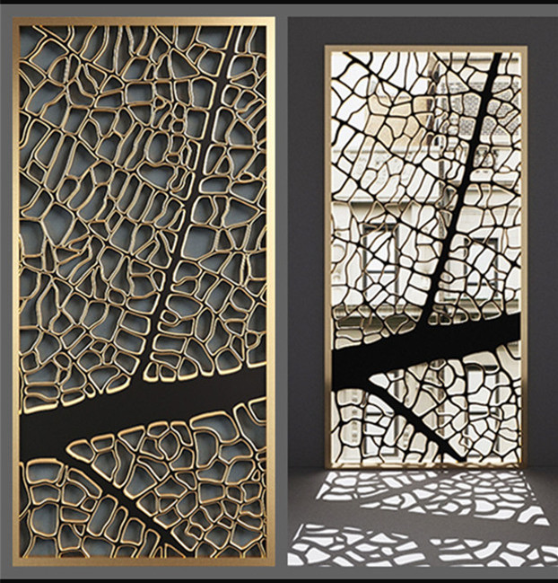 Stainless Steel Decorative Wall Partition