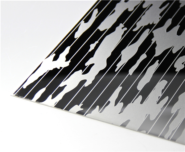Mirror Etching Stainless Steel Sheet
