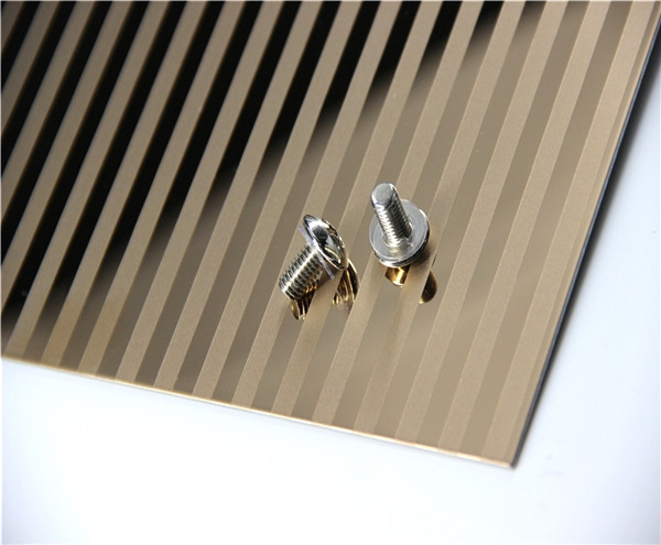 Colored Etched Stainless Steel Sheets