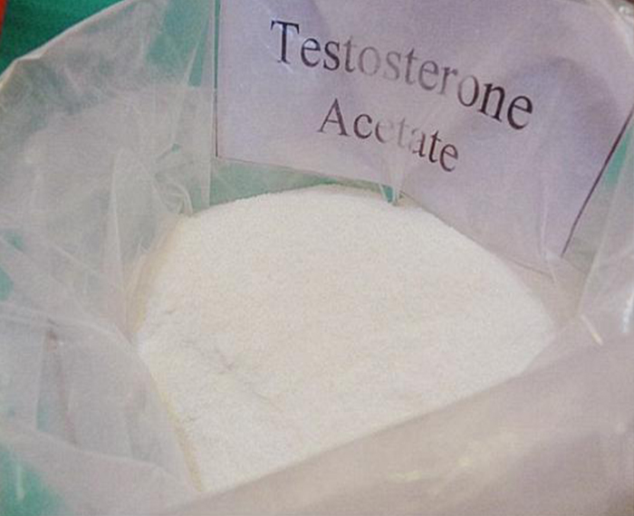 99% Purity Steroid Hormone Powder Testosterone Acetate CAS 1045-69-8
