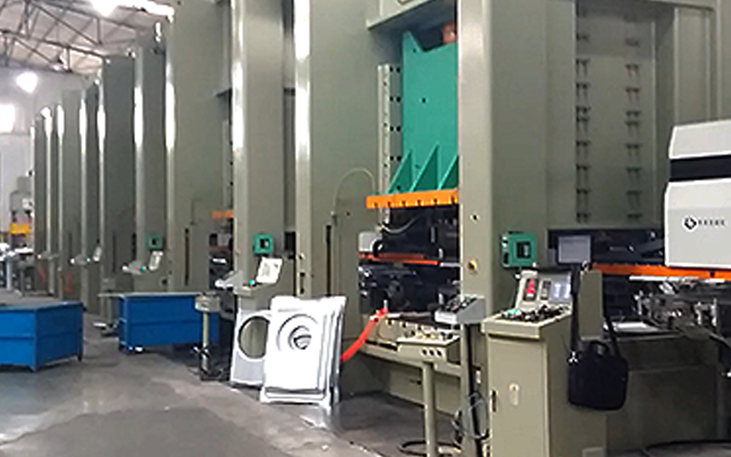 STPP double-point press for air conditioner manufacturer