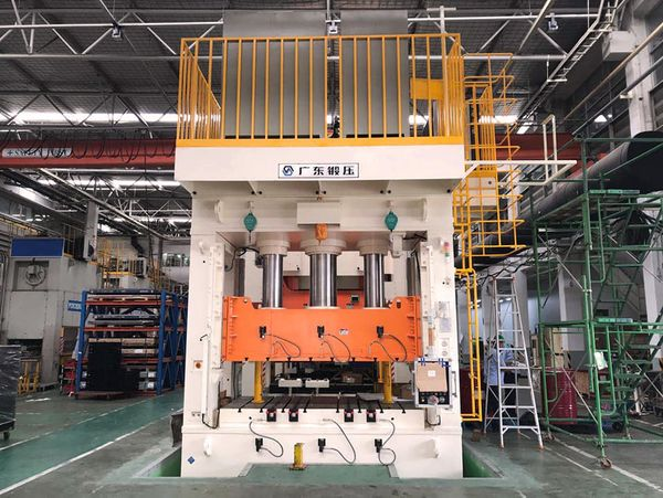 800T tie-rod structure servo hydraulic press