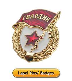 Lapel Pins- Badges