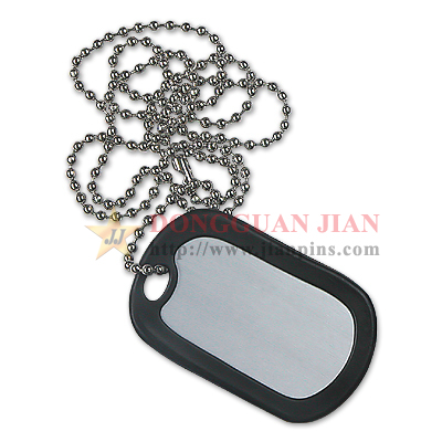 dog tags with silencer