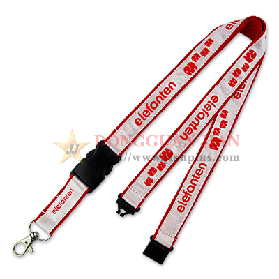 imprinted satin lanyards supplier