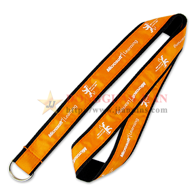 woven satin lanyard supplier