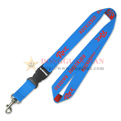 custom woven lanyards with print logo