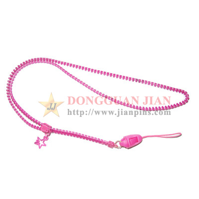 promotional zipper lanyards