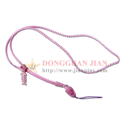 zipper lanyards