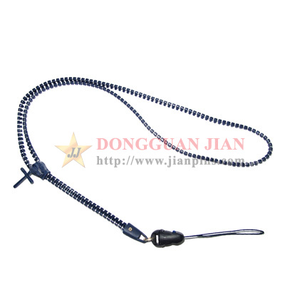 fashionable zipper lanyards