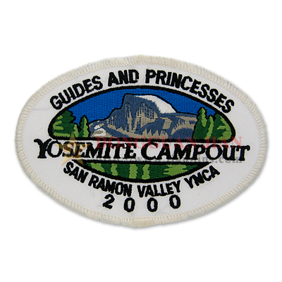 campout embroidered patches