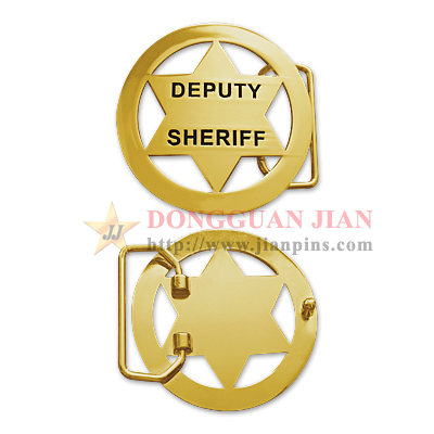 Custom Belt Buckles For Police