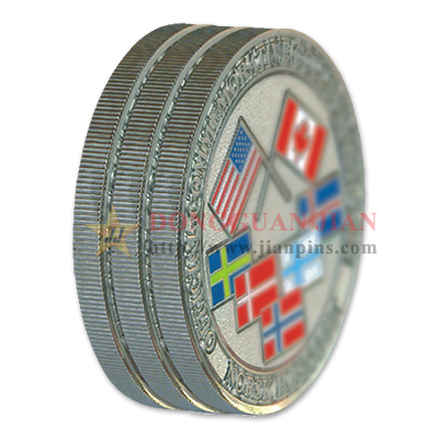 Ribbed Edge Silver Coins