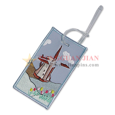 embroidered luggage tags manufacturer